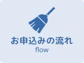 東京都中野区新井のハウスクリーニングのお申し込みの流れ
