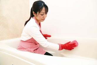 水アカ・カビをしっかり落として、スッキリ清潔なバスタイムを!!